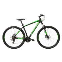 Bicicleta Fivestars Rocky 29 MDB Negru/Verde 2021 - 400mm