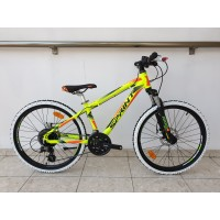 Bicicleta Sprint Apolon Pro 24 Verde Neon 2020 - 340 mm
