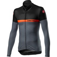 Bluza Termica Castelli Marinaio Jersey Negru/portocaliu/Gri XXL