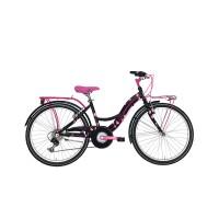 Bicicleta Adriatica CTB 24 6V Donna neagra