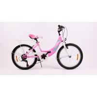 Bicicleta Sprint Starlet 20 Roz Neon Lucios