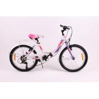 Bicicleta Sprint Starlet 20 Alb Lucios