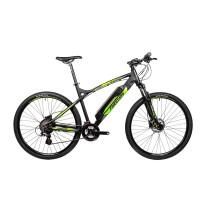 Bicicleta electrica Fivestars 29 negrumat/verde 500mm (L)