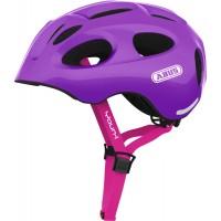 Casca Abus Youn-I sparkling purple S (48-54 cm)
