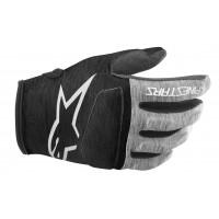 Manusi Alpinestars Youth Racer Black Melange Grey White M