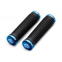 Mansoane Reverse Taper 34/30x130 mm negru/albastru