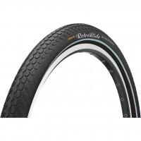 Anvelopa Continental RetroRide Reflex 50-622 28*2.0 negru/negru