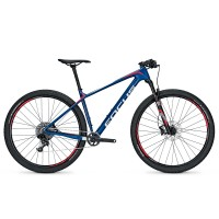 Bicicleta Focus Raven Evo 11G 27.5 blue/red/white 2017