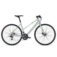 Bicicleta Focus Arriba Sora 18G TR chromosilver 2017