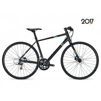 Bicicleta Focus Arriba Claris 16G DI magicblackmatt 2017