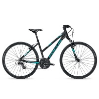 Bicicleta Focus Crater Lake Elite 21G TR blackm 2017
