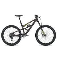 Bicicleta Focus Sam C Factory 11G 27.5 brown/fl.yellow 2017
