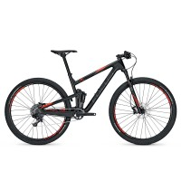 Bicicleta Focus O1E Evo 11G 29 black/red 2017