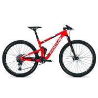 Bicicleta Focus O1E Team 12G 29 red/white 2017