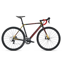 Bicicleta Focus Mares 105 22G carbon/red/orange 2017