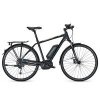 Bicicleta electrica Focus Aventura Elite 9G 11.1Ah 36V DI blackmatt 2017