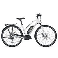 Bicicleta electrica Focus Aventura Elite 9G 11.1Ah 36V TR whitematt 2017