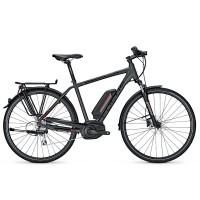 Bicicleta electrica Focus Aventura 8G 11.1Ah 36V DI greymatt 2017