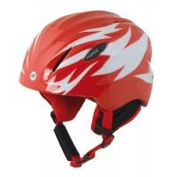 Casca Force Ski Baby rosu-alb L/XL