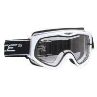 Ochelari Force alb alpin lentile transparente