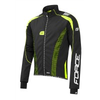 Jacheta Force X72 PRO Men softshell negru-fluo XL