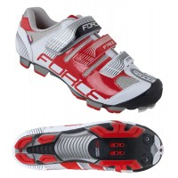 Pantofi Force Free MTB alb/rosu 39