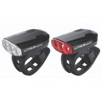 BBB Set lumini SparkCombo fata-spate negre reincarcabile baterie Litiu