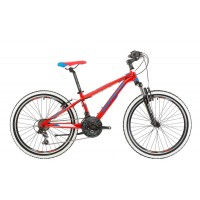 Bicicleta Shockblaze Ride 24 2017 RED Gloss