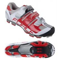 Pantofi Force Free MTB alb/rosu 38