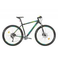 Bicicleta Sprint Apolon Pro LTD 29 negru mat/lime 2017-520 mm