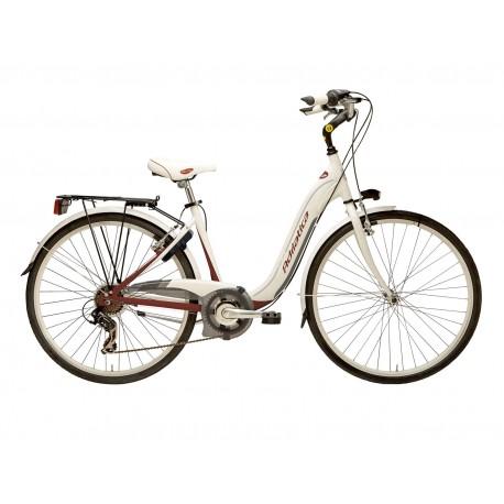 Bicicleta Adriatica Relax 26 6V alb/bordo 45 cm