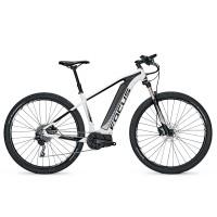 Bicicleta electrica Focus Jarifa I29 10G 17Ah 36V white/black 2017