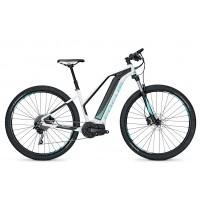 Bicicleta electrica Focus Jarifa I29 Donna 10G 17Ah 36V white/black 2017