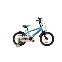 Bicicleta copii Robike Ronny 16 albastru