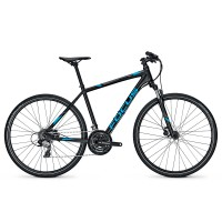 Bicicleta Focus Crater Lake Evo 24G DI magicblackmatt 2017 - 550mm (L)