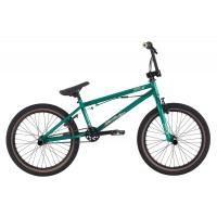Bicicleta BMX HARO Downtown verde metalic 20.3 2017