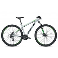 Bicicleta Focus Whistler Elite 29 24G palermosilver 2017 - 500mm (L)